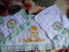 Belly Art's: Jogo de Fralda p/ Bebê.