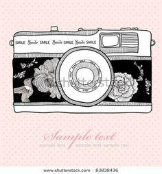 *love* this one - retro camera vector