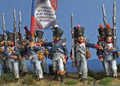 28mm metal figures 57th French Line Infantry regiment 'Terrible' 1804-12