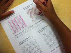 Mrs. Upton's 4th Grade Class: Multiples, Factors, & Arrays