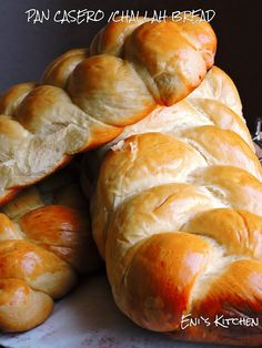 Eni´s Kitchen: Challah bread o pan judío/ pan casero