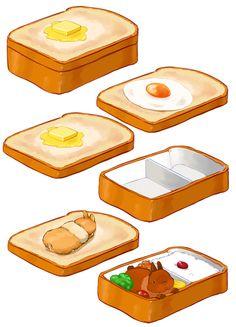 パンで皿を作ればカツドゥーンパンが作れるという結論に至った/らいらっく