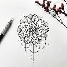 Delicate and beautiful 30 simple mandala tattoo design ideas for women – Page 4 - Tattoo MAG Mandala Tattoo Design, Simple Mandala Tattoo, Dotwork Tattoo Mandala, Delicate Tattoo, Mandala Drawing, Tattoo Designs, Hand Tattoo, Tattoo Henna, Tattoo Finger