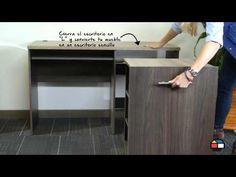 Muebles extensibles para optimizar espacio http://ini.es/1KbH0mn #Bibliotecas, #Muebles, #MueblesExtensibles