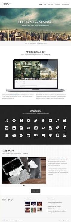 Hardy WordPress Theme - Theme Trust