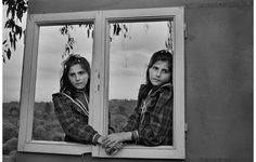 """One of my favorite photographers: Cristina García Rodero. Here in """"Transtempo#, exhibition I saw in Madrid, 2012, PhotoEs"""