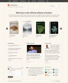 Publisher WordPress Theme for selling digital products on Behance
