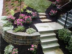 A retaining wall can add usable space to a slope. Get professional help for any wall more than two feet tall.