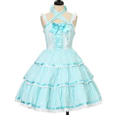 Worldwide shipping available ♪ Angelic Pretty ☆ ·. . · ° ☆ Angel Tiered jumper skirt https://www.wunderwelt.jp/en/products/w-16226 IOS application ☆ Alice Holic ☆ release Japanese: https://aliceholic.com/ English: http://en.aliceholic.com/