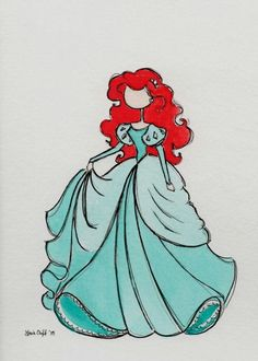Ariel / The Art of Leah. T