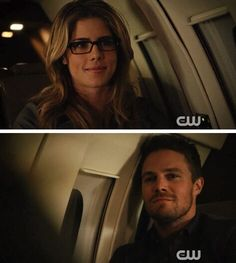 She makes him smile! #Olicity #Arrow #3x20