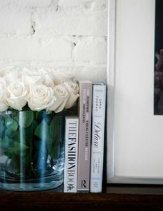 Coffee table book decor