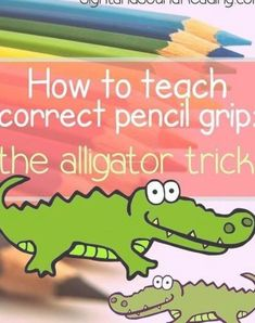 How to Teach Your Child to Read - Teaching correct pencil grip. Help your child learn to hold a pencil correctly. Give Your Child a Head Start, and.Pave the Way for a Bright, Successful Future. Kindergarten Writing, Preschool Learning, Kindergarten Classroom, Educational Activities, Preschool Activities, Literacy, Toddler Learning, Classroom Decor, Home School Preschool