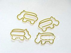 Guarantee 100% Genuine 1.2mm diameter., iron wire Hippo shaped paper clips,Designer Christmas gifts+Free custom shapes-in Clips from Office & School Supplies on Aliexpress.com
