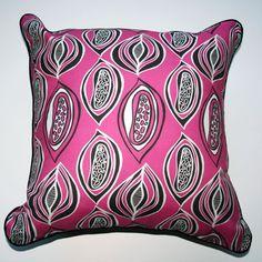 Cushion Desert Pod Magenta - Katz Designer Textiles