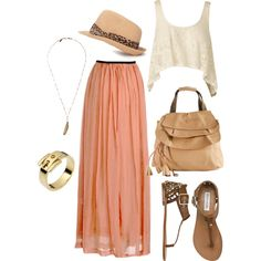 """""""Golden Summer"""" by august29 on Polyvore"""