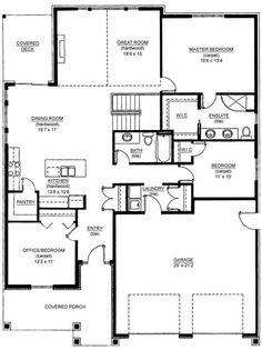 Cross Gable Open Concept Floor Plan I Like The Laundry