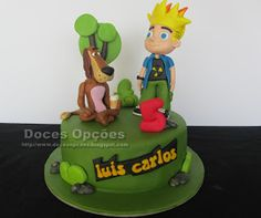 Doces Opções: Bolo de aniversário do Luís Carlos com  o Johnny T...