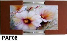 Quadro Decorativo Flores Pintura óleo S Telas