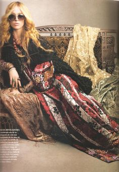 Boho at its dramatic best....