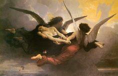 a r t | g a l l e r y William Bouguereau (1825-1905) peintre français Une Âme au Ciel, 1878