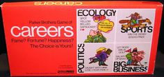 Parker Brothers Careers board game from 1971