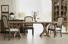 Hooker Furniture's Corsica Rectangle Dining Table