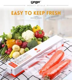 Household Food Vacuum Sealer Automatic And Manual Operation With Bags Ab Machines, Workout Diet Plan, Packaging Machine, Vacuum Sealer, Healthy Exercise, Weight Loss Blogs, Lose Belly Fat, Fitness Diet, How To Lose Weight Fast