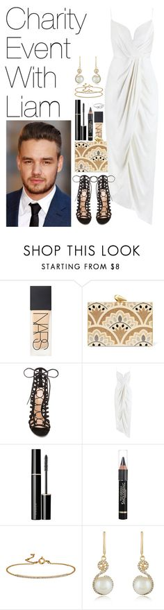 """Charity Event with Liam"" by onedirectionimagineoutfits99 ❤ liked on Polyvore featuring NARS Cosmetics, KOTUR, Payne, Gianvito Rossi, Zimmermann, SUQQU, Anrealage, Blue Nile and Effy Jewelry"