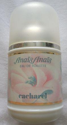 Cacharel, Anais Anais, Eau De Toilette. Introduced in 1978, still available. Wonderful!