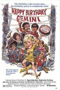 Happy Birthday Gemini poster. Jack Davis art
