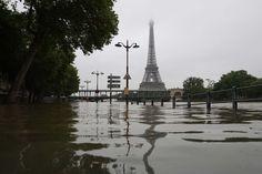 París bajo el agua por crecida del Sena