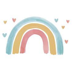Image Arc En Ciel, Frühling Wallpaper, Rainbow Wallpaper, Palette Wall, Rainbow Wall Decal, Rainbow Art, Rainbow Logo, Lucky Day, Montessori Toys