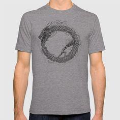 The Ouroboros / Uroboros and Sisyphus T-shirt