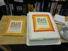 Want a sure way to entice book lovers to attend your bookstore book launch party? Promise cake (a thematically-true cake). They will come! http://plotwhisperer.blogspot.com/2013/11/bookstore-book-launch-party-idea.html