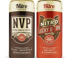Breckenridge Brewery's Nitro Series can line to debut in first quarter, 2016     #craftbeer #beer