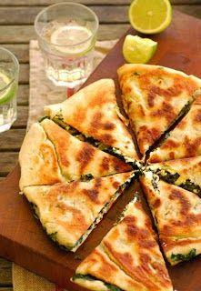 Hummus Recipes: Turkish Silverbeet & Feta Gozleme Recipe