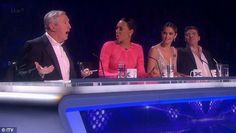 Outed? Simon Cowell seemed to imply Louis Walsh wouldn't be interest in a female dancer during The X Factor's Big Band week show
