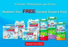 23 Jun 2016 Onward: GOO.N FREE Diaper Sample Giveaway