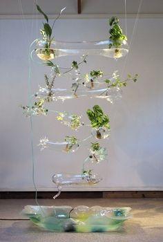 Ken Rinaldo & Amy Youngs, Hyrdoponic Solar Garden on ArtStack #ken-rinaldo-amy-youngs #art