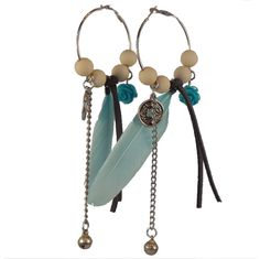 Bohemian earings handmade by Bright Jewlz