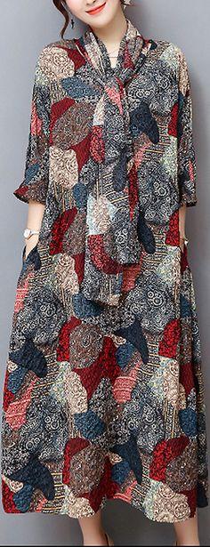 US$32.29 + Free shipping. Size: M~3XL. Women's Dresses, Women's Clothing, Elegant Style.