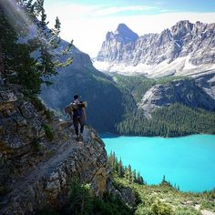 Lake Ohara, Yoho National Park, Canada