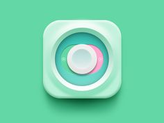 App Icon Switch by Al Rayhan, via Behance Ui Design Mobile, App Icon Design, App Ui Design, User Interface Design, Site Design, Flat Design, Mobile Icon, Launcher Icon, Ui Buttons