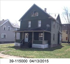 Actual Picture from County WebsiteNeighborhoodPicture from Google MapsStreet View from the house Warren Ohio, Cheap Houses, Selling Real Estate, Shed, Outdoor Structures, Cabin, House Styles, Building, Google