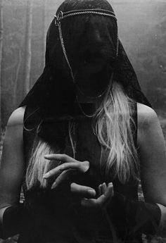 veil, hands, witchy, dark (without being kitsch)