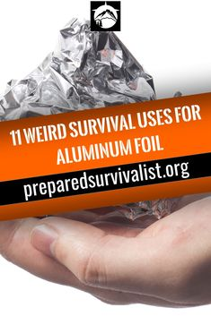 How many survival uses for aluninum foil do you know? There are a ton out there. Aluminum foil is much more that you standard kitchen item and should earn a place in your bug out bag. Keep reading to learn 11 survival uses for this weird hero of emergency Survival Supplies, Survival Food, Survival Knife, Survival Prepping, Survival Skills, Survival Hacks, Survival Quotes, Prepper Food, Survival Essentials