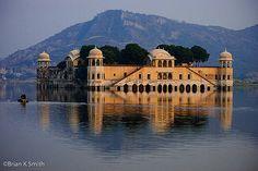 Jaipur, India, Water Palace