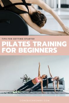 Pilates is one of those words that are usually associated with women in Yoga Pants. Yes, you will need to wear workout attire but it's so much more than that! If you have never looked into it or even you practice it there might be something to learn from this article. Below is your Pilates Training Guide For Beginners from what it really is, how to find the right studio and resources to help you get started! #ComebackMomma #pilates #fitnesstips #pilatestips