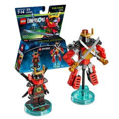 LEGO Dimensions Fun Pack- Ninjago Nya. With LEGO Fun Packs, Get the best variety for an extreme cross-over experience.<br><br>The LEGO Group is the leading construction toy manufacturer in the world. The LEGO set is a standard of creative play for children worldwide, unlocking the creativity to build vehicles, buildings, cities and more. <br><br>Shop the huge selection of LEGO sets, exclusives, storage, accessories and more available at Toys R Us in our <a…